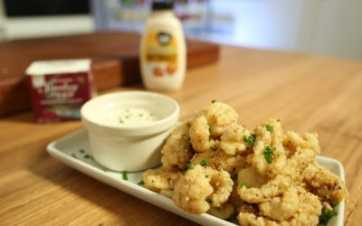 Smoked Salt and Pepper Squid