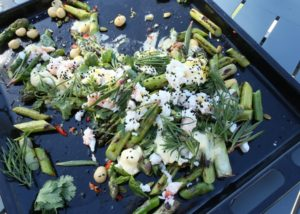 Spanner Crab and Asparagus salad recipe - The Cooks Pantry