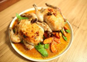 Spatchcock with Spiced Orange Glaze recipe - The Cooks Pantry