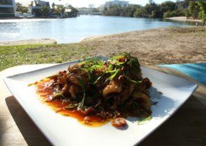 Squid Stirfry recipe - The Cooks Pantry