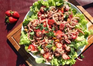 Strawberry, Butter Lettuce Tarragon Salad recipe - The Cooks Pantry