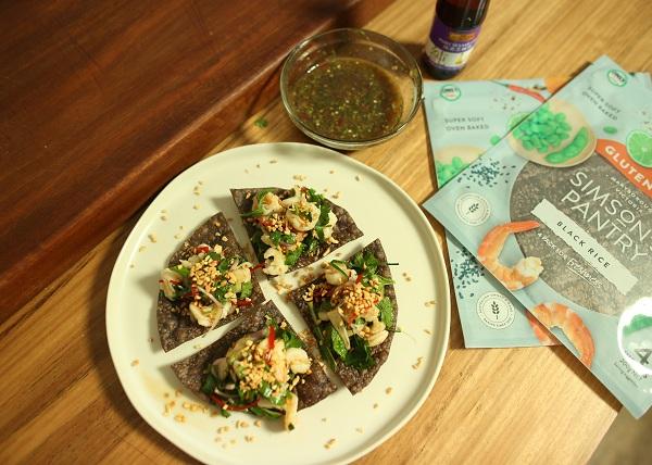Asian Prawn Tostadas recipe - The Cooks Pantry