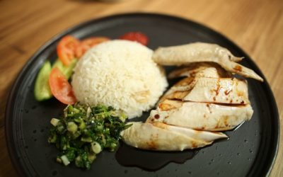 Hainanese Chicken & Rice