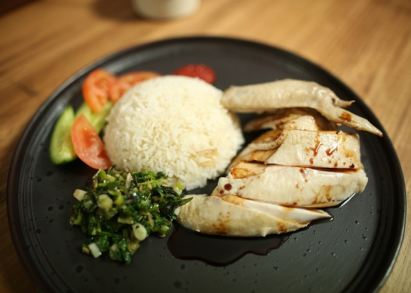 Haianese Chicken Rice recipe - The Cooks Pantry