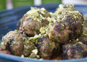 Turkish Kofte with Muhammara recipe - The Cooks Pantry