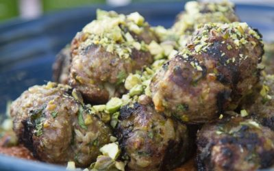 Lamb Kofta with Muhammara