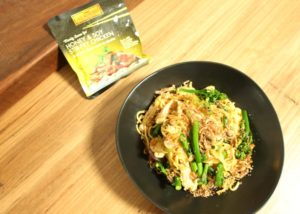 honey soy singapore noodles recipe - The Cooks Pantry