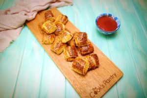 2023 Chicken Sausage Rolls recipe - The Cooks Pantry