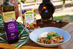 2052 Beef Stroganoff with Olive Oil Mash recipe - The Cooks Pantry