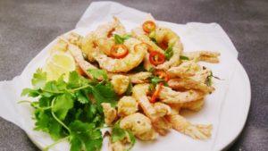 2085 Chilli Salt Prawns recipe - The Cooks Pantry
