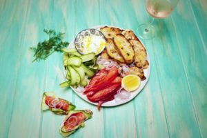 2088 Beetroot Cured Salmon recipe - The Cooks Pantry