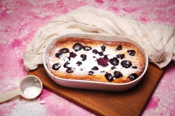 2116 Cherry Clafoutis recipe - The Cooks Pantry