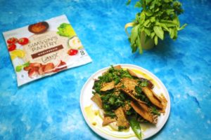 2128 Middle Eastern Style Grilled Eggplant Fattoush Salad recipe - The Cooks Pantry