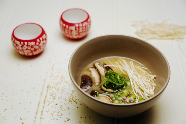 2139 Miso and Shiitake Soup recipe - The Cooks Pantry