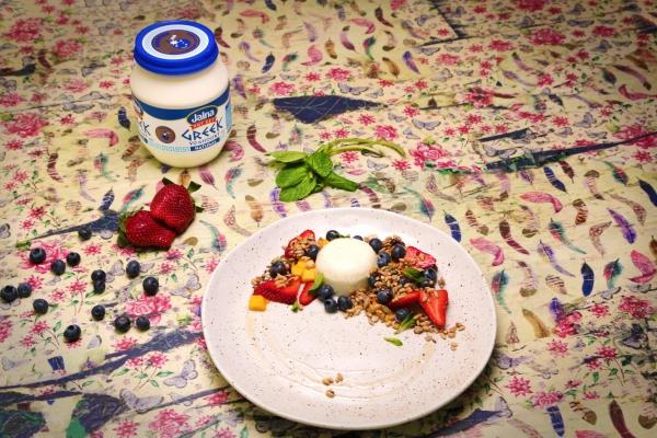 Breakfast Panna Cotta