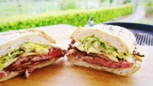 2240 Steak Sandwich with Swiss Cheese recipe - The Cooks Pantry