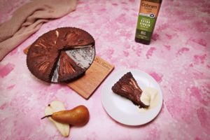 2072 Spiced Chocolate, Hazelnut and Pear Torte recipe - The Cooks Pantry