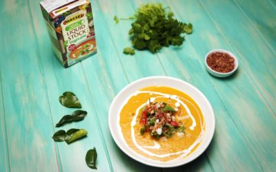 Thai Pumpkin and Carrot Soup