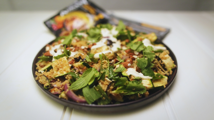 2174 Chargrilled Vegetable and Cous Cous Salad recipe - The Cooks Pantry