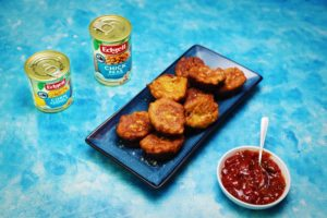 2200 Chickpea, Sweetcorn and Fetta Fritters recipe - The Cooks Pantry