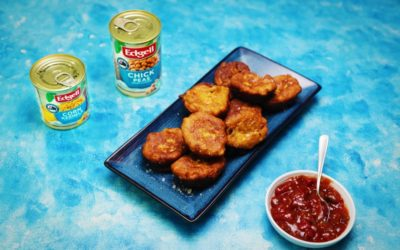 Chickpea, Sweetcorn and Fetta Fritters