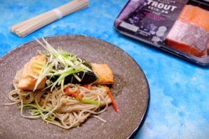 Nori wrapped trout recipe - the cooks pantry