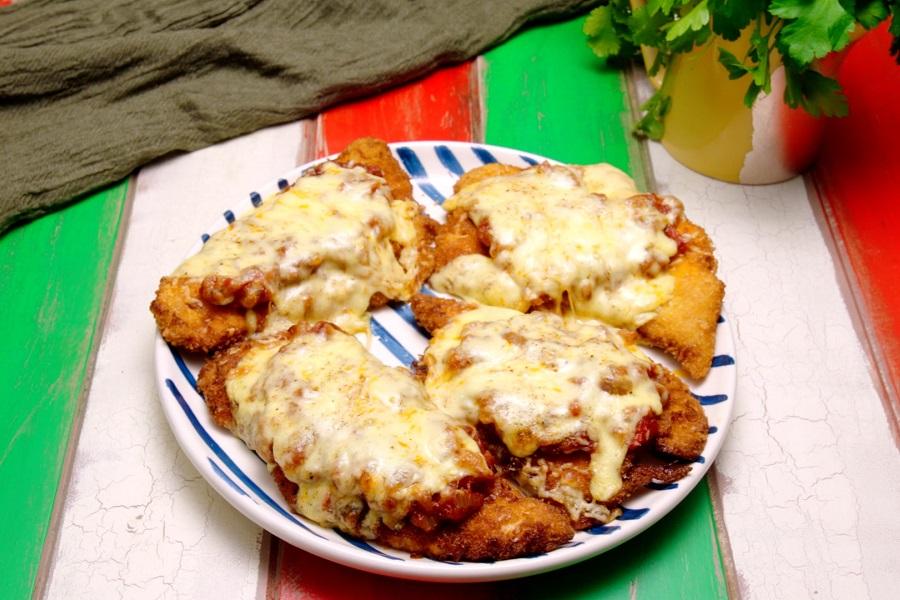 Chicken Parmas