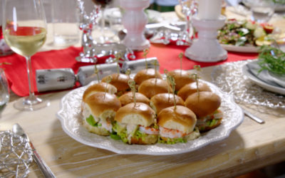 Khanh's Prawn Cocktail Sliders