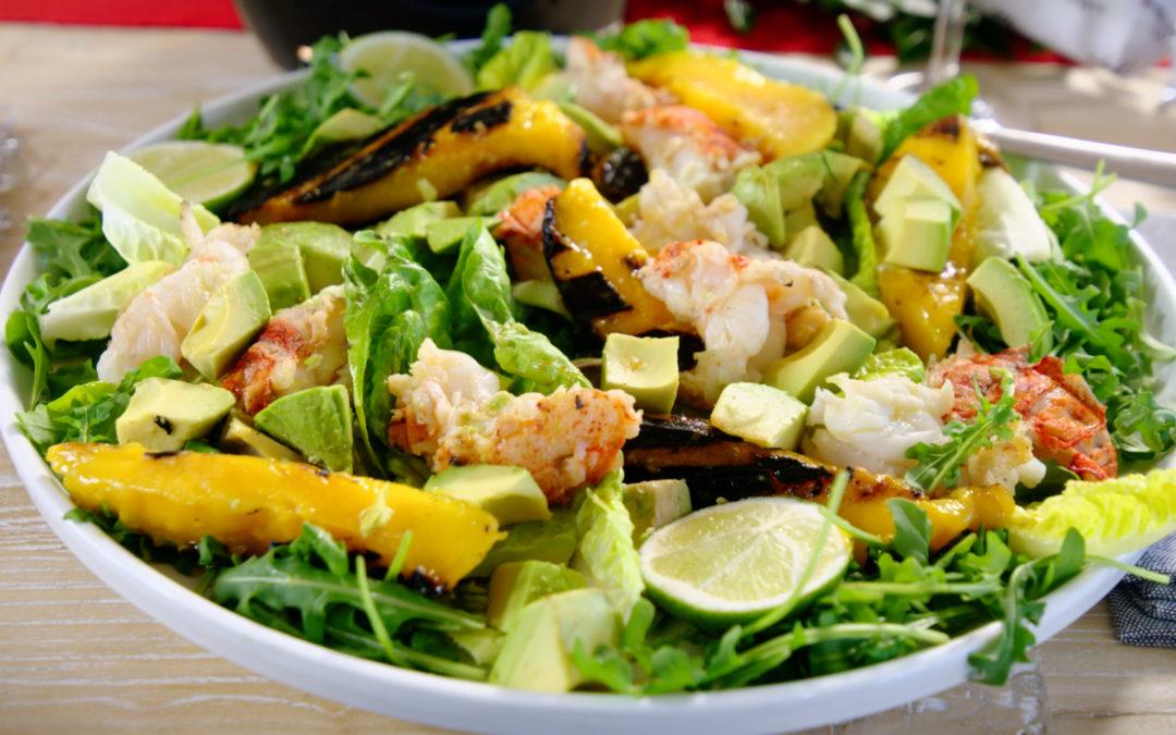 Ben's Crayfish Tail Salad