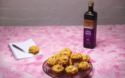 Extra Virgin Olive Oil Savoury Muffins