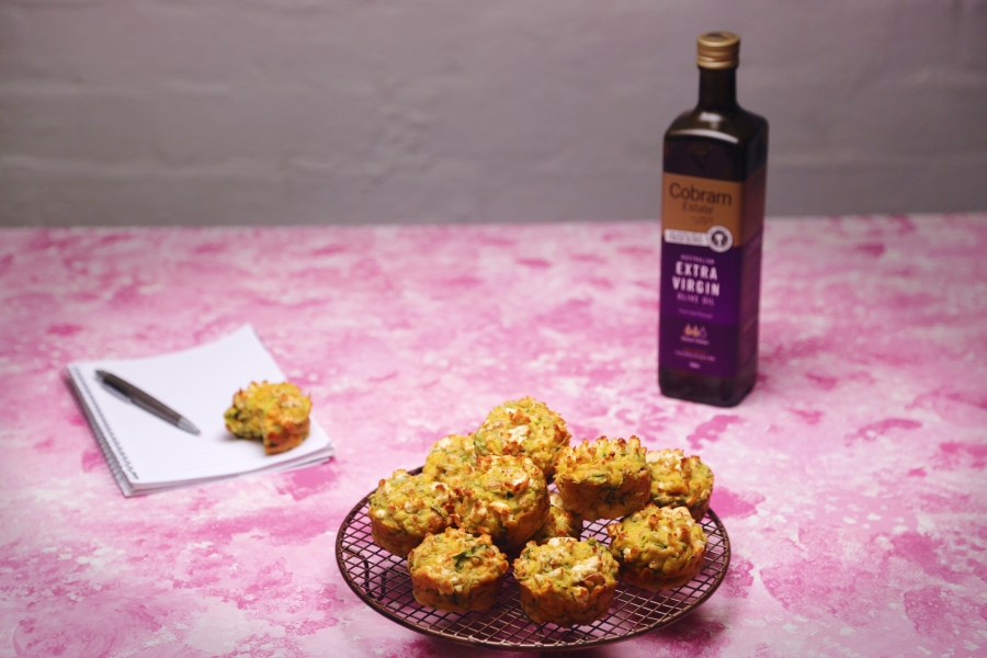 11. 2113 EVOO Muffins recipe - the cooks pantry