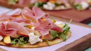 11. 2307 Peach and Proccutio Pizza recipe - the cooks pantry