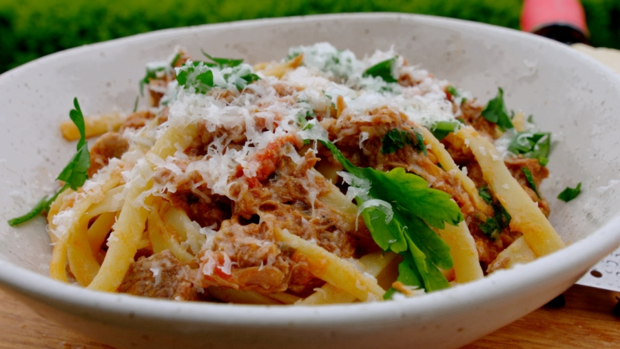 Beef Ragu with Graze Beef