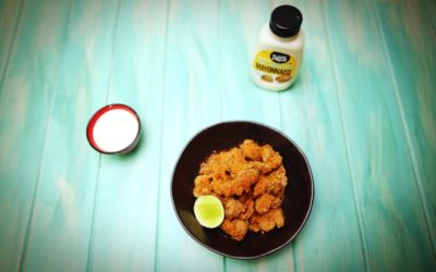 Karaage Chicken with Sesame lime Mayonaise