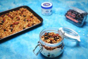2153 Blueberry Breakfast Jar recipe - the cooks pantry