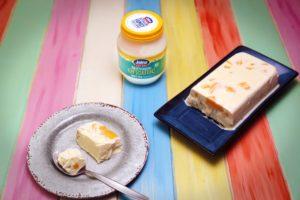 2186 Mango and Macadamia Yoghurt Semifreddo recipe - the cooks pantry