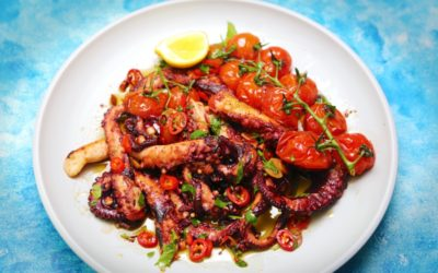 Octopus with Sweet and Sour Tomatoes