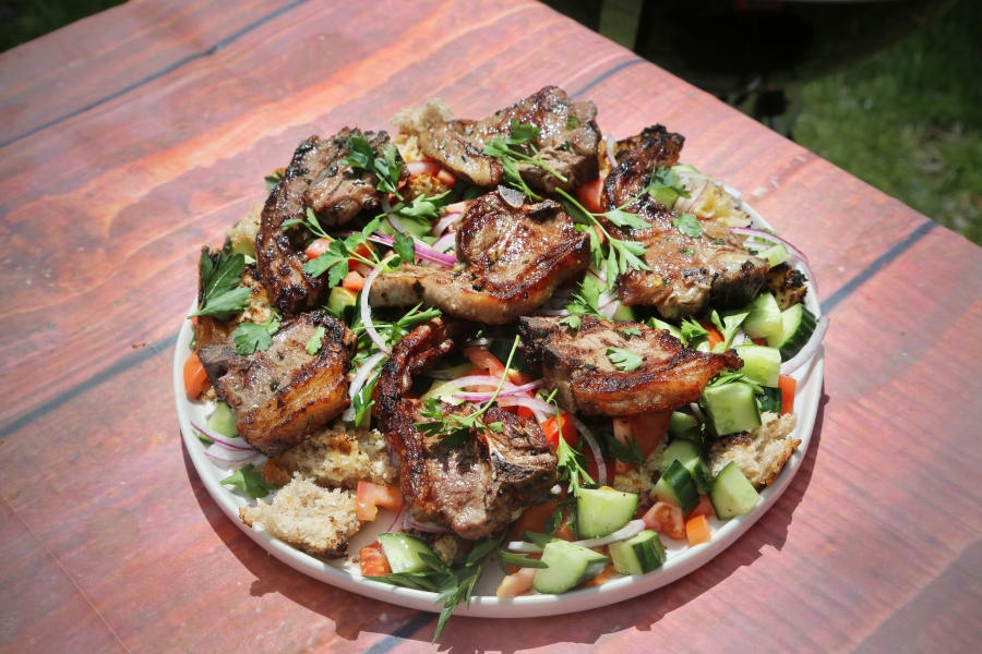 Lamb Chops Michael's Way