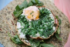 2286 Green Eggs and Christmas Breakfast Wrap recipe - the cooks pantry