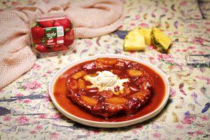7. 2167 Pineapple and Strawberry Tarte Tartin recipe - the cooks pantry