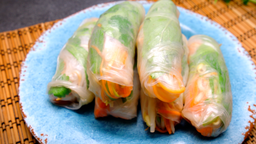 7. Rice Paper Rolls recipe - the cooks pantry
