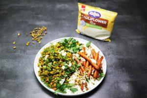 8. 2259 Moroccan Cauliflower Rice _ Carrot salad recipe - the cooks pantry