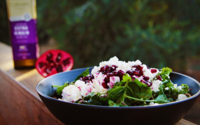 Herb & Pomegranate Salad