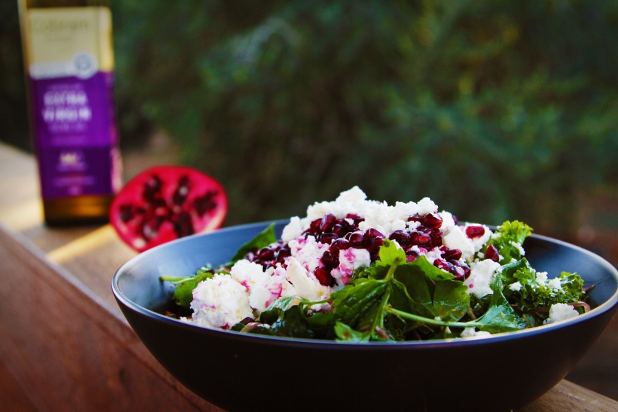 9. 2059 Herb and Pomegranate Salad recipe - the cooks pantry