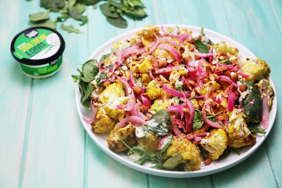Roasted Cauliflower Salad