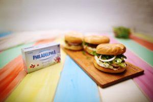 2014 Hot Smoke Salmon Bagels recipe - the cooks pantry