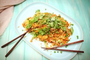 2024 Red Curry Fried Rice recipe - the cooks pantry