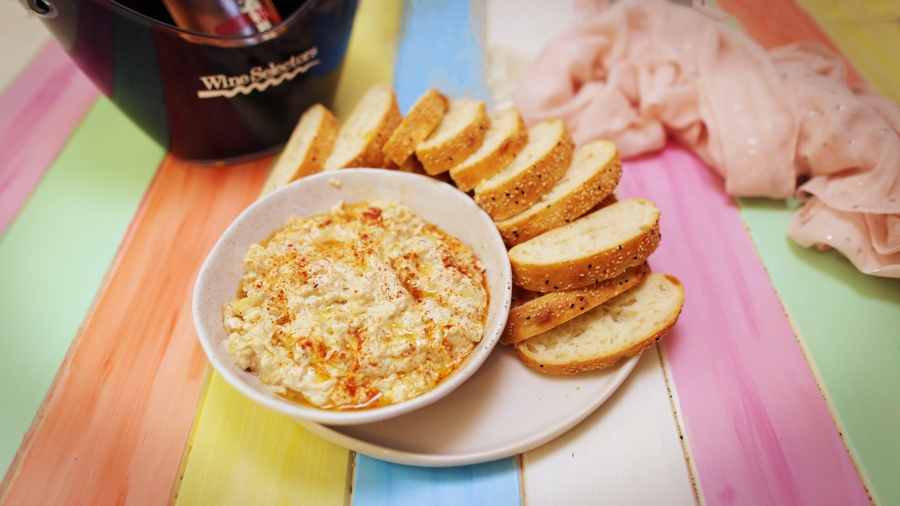 Baba Ganoush with Toasted Turkish Bread