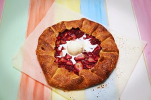 2086 Strawberry Galette recipe - the cooks pantry
