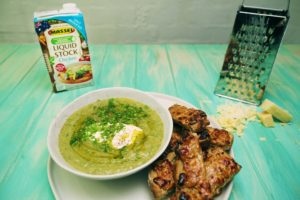 2087 Broccoli and Leek Soup recipe - the cooks pantry
